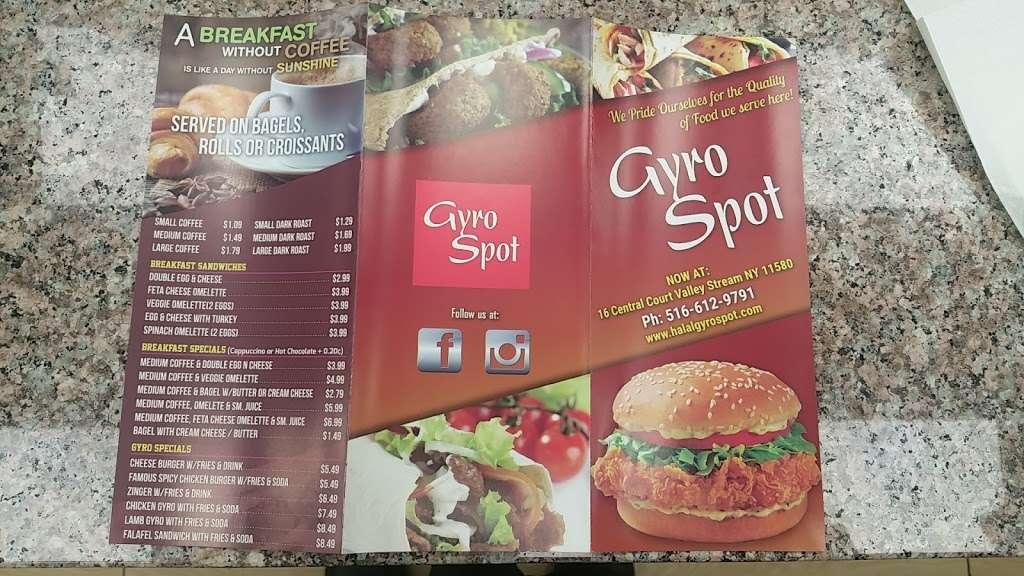 Gyro Spot - restaurant  | Photo 6 of 10 | Address: 16 Central Ct, Valley Stream, NY 11580, USA | Phone: (516) 612-9791