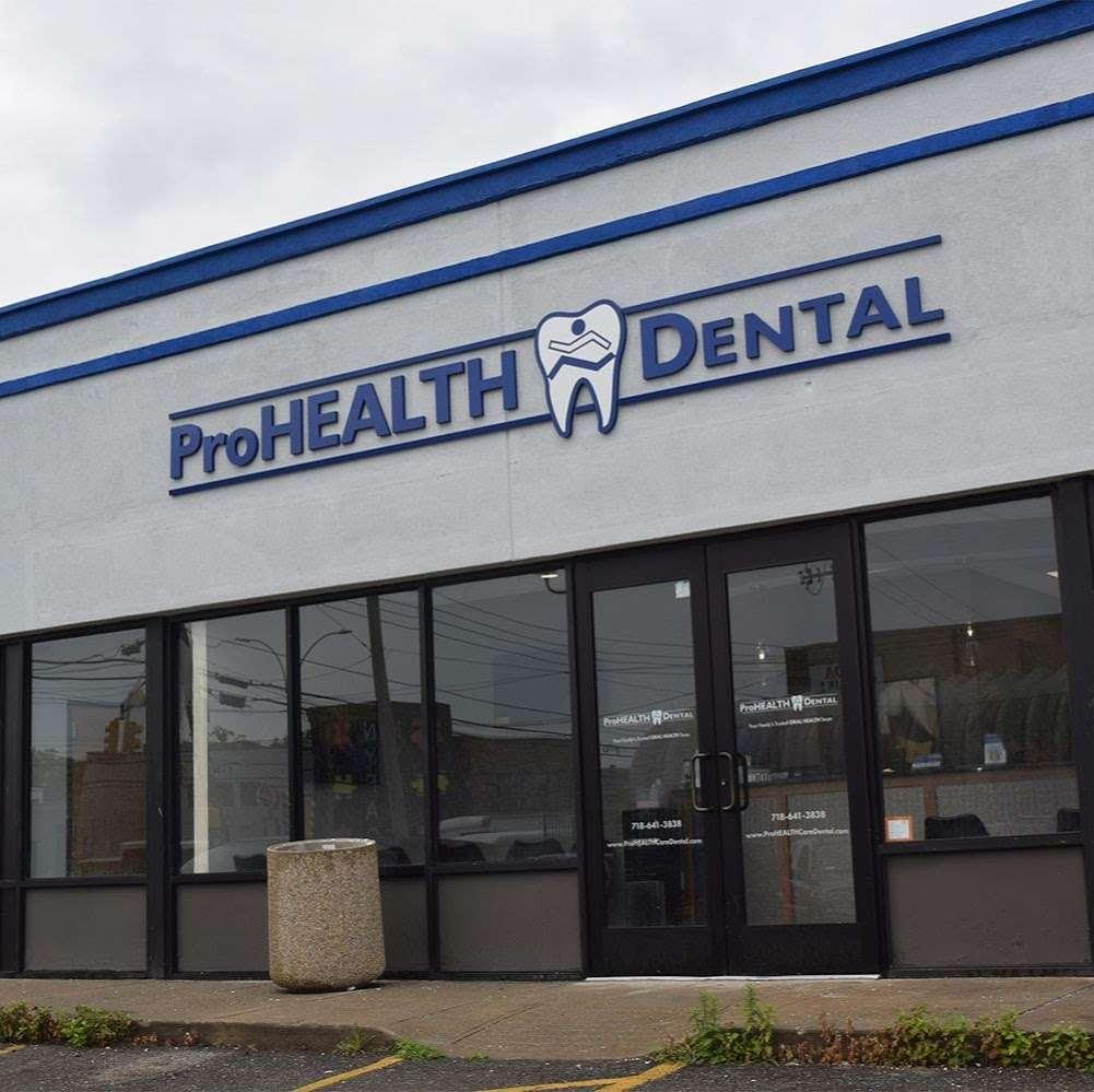 ProHEALTH Dental - dentist    Photo 3 of 7   Address: 163-45 Cross Bay Blvd, Howard Beach, NY 11414, USA   Phone: (718) 641-3838