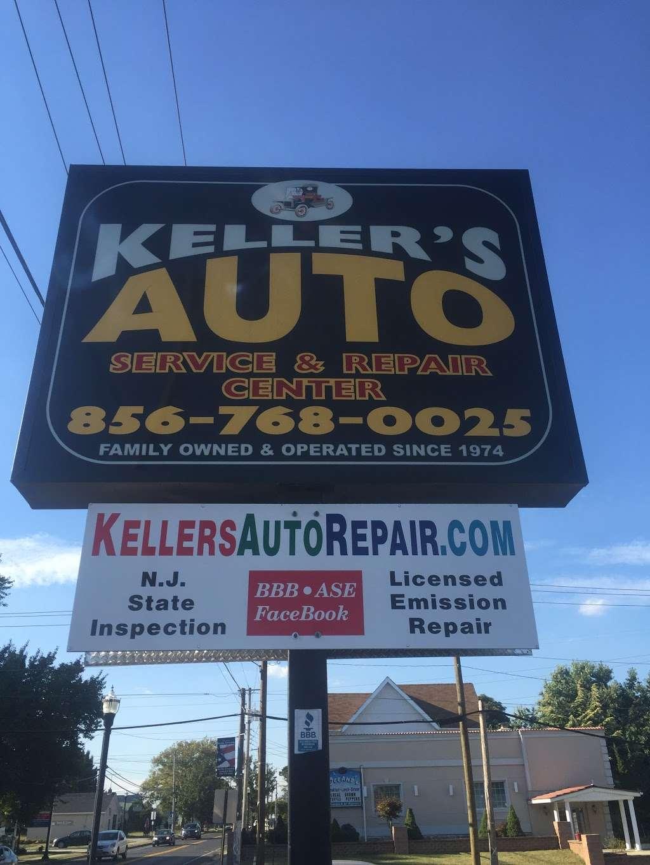 Kellers Auto Repair & Service Center - car repair  | Photo 2 of 2 | Address: 210 Haddon Ave, West Berlin, NJ 08091, USA | Phone: (856) 768-0025