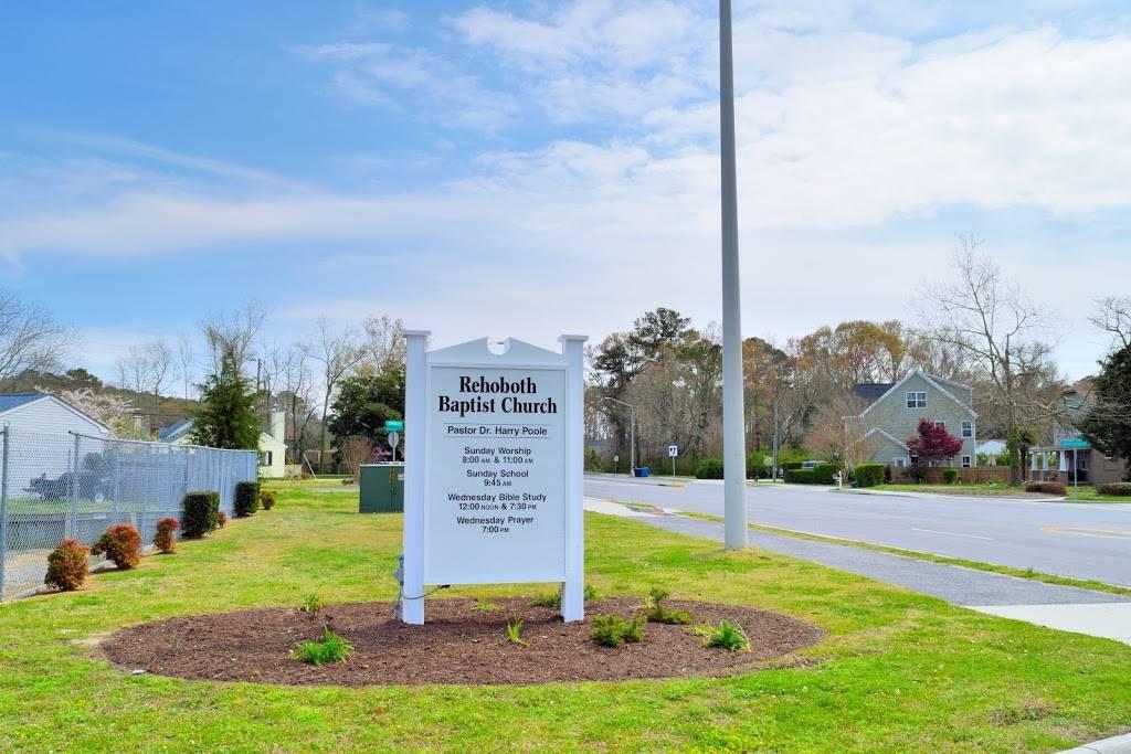 Rehoboth Baptist Church - church  | Photo 2 of 6 | Address: 182 S Birdneck Rd, Virginia Beach, VA 23451, USA | Phone: (757) 425-5225