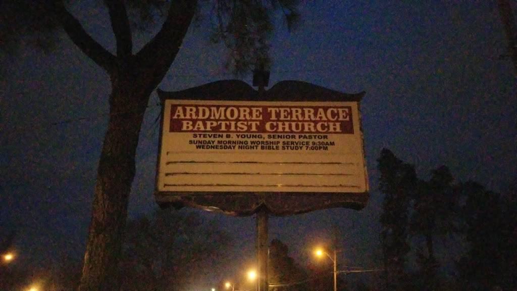 Ardmore Terrace Baptist Church - church    Photo 1 of 1   Address: 3857 Schoolfield Rd, Memphis, TN 38127, USA   Phone: (901) 353-2060
