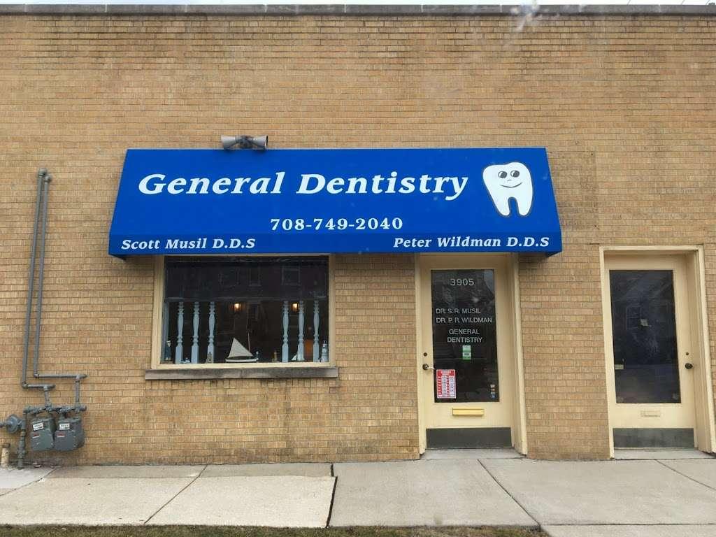 Musil & Associates: Peter R Wildman, DDS - dentist  | Photo 1 of 1 | Address: 3905 Oak Park Ave, Berwyn, IL 60402, USA | Phone: (708) 749-2040
