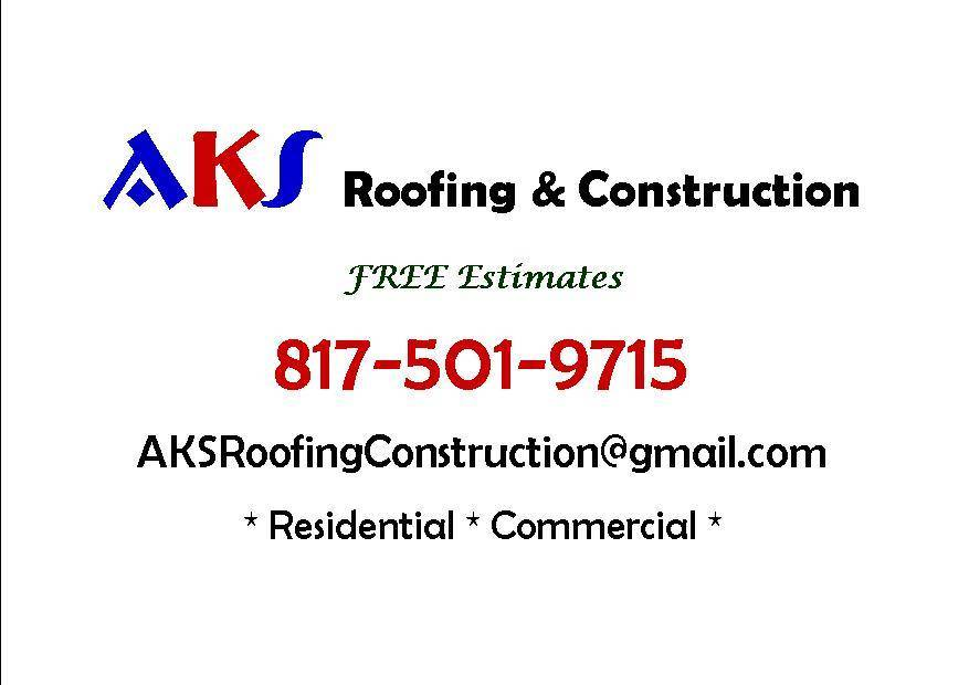 AKS Roofing & Construction - roofing contractor  | Photo 1 of 1 | Address: 955 Winscott Rd, Benbrook, TX 76126, USA | Phone: (817) 501-9715