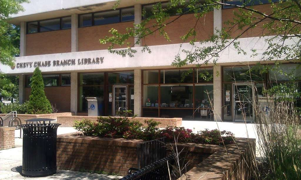Chevy Chase Neighborhood Library 5625 Connecticut Ave Nw