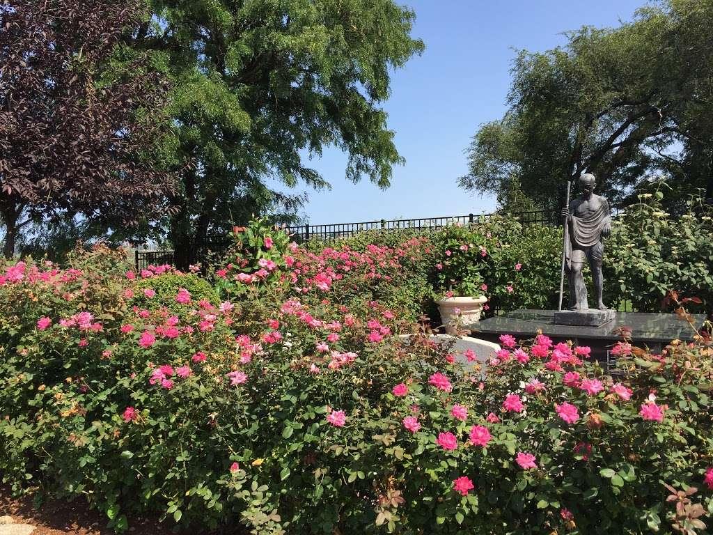 Sadhu Vaswani Meditation Garden - park  | Photo 6 of 10 | Address: 1200 Koelle Blvd, Secaucus, NJ 07094, USA