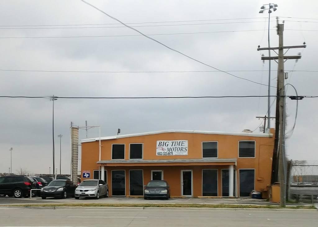 Big Time Motors - car dealer    Photo 1 of 3   Address: 3101 E Abram St, Arlington, TX 76010, USA   Phone: (817) 822-4961