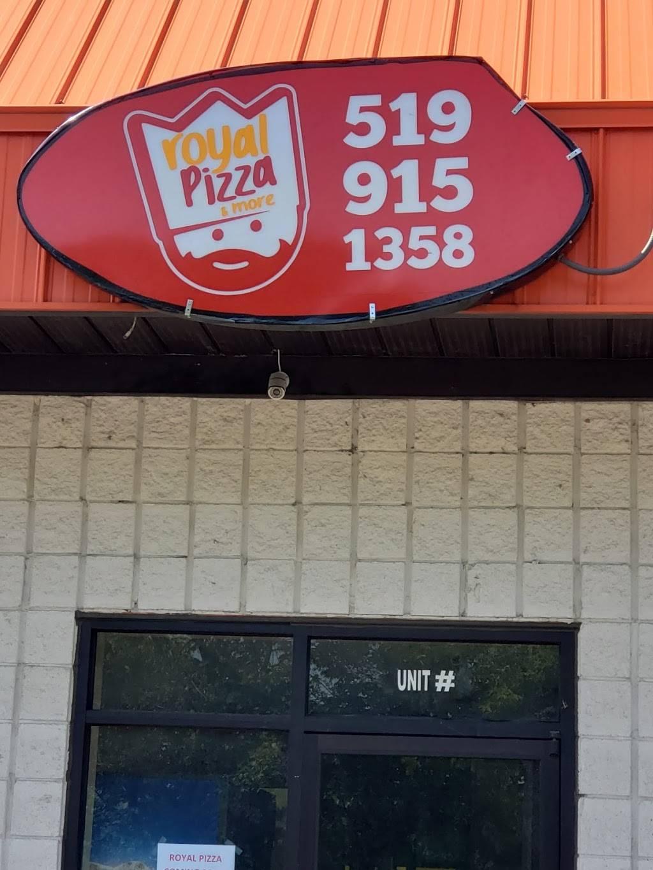 Royal pizza & more - restaurant  | Photo 1 of 10 | Address: 899 Grand Marais Rd E unit 3, Windsor, ON N8X 3H9, Canada | Phone: (519) 915-1358