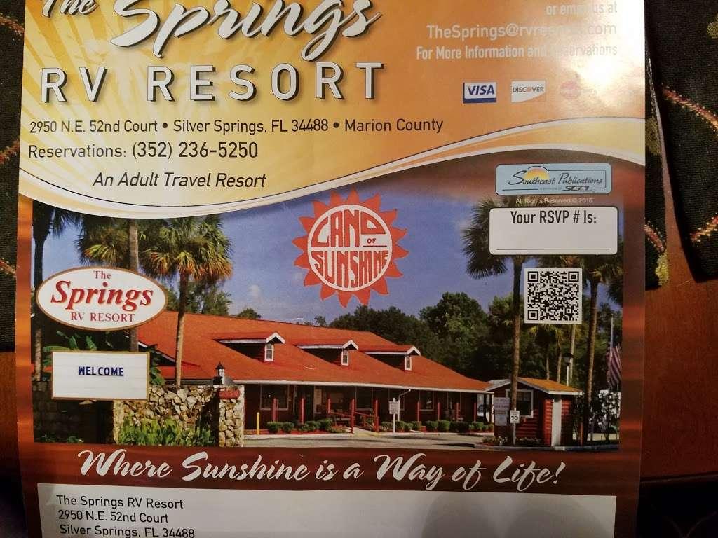 The Springs RV Resort - rv park  | Photo 7 of 10 | Address: 2950 NE 52nd Ct, Silver Springs, FL 34488, USA | Phone: (352) 236-5250