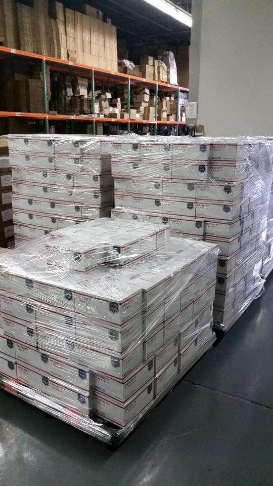 Alliance Marketing Distributors Fulfillment & Print Shop - storage  | Photo 2 of 8 | Address: 133 Industrial Ave, Hasbrouck Heights, NJ 07604, USA | Phone: (201) 727-9660