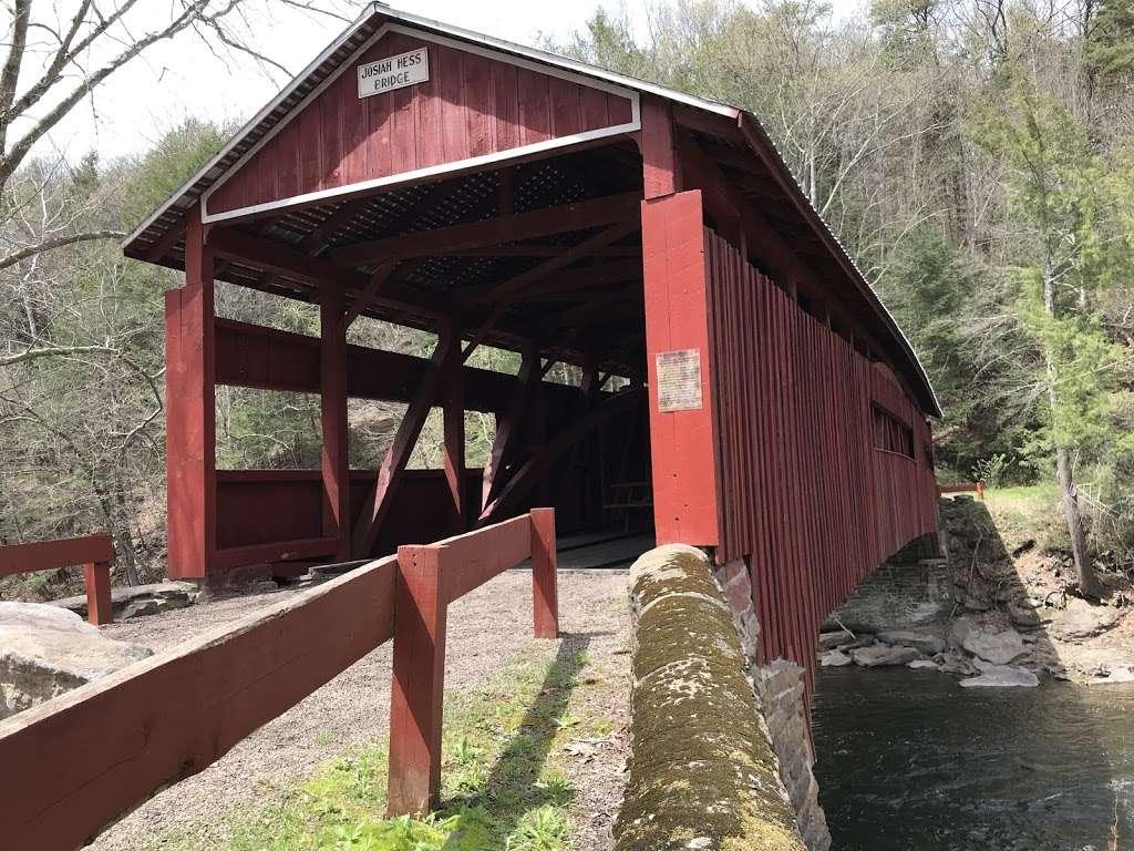 Josiah Hess Covered Bridge - museum  | Photo 9 of 10 | Address: Winding Rd, Orangeville, PA 17859, USA