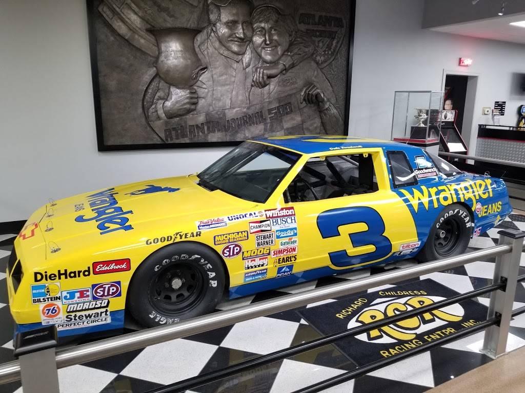Richard Childress Racing - museum    Photo 2 of 6   Address: 425 Industrial Dr, Lexington, NC 27295, USA   Phone: (336) 731-3334