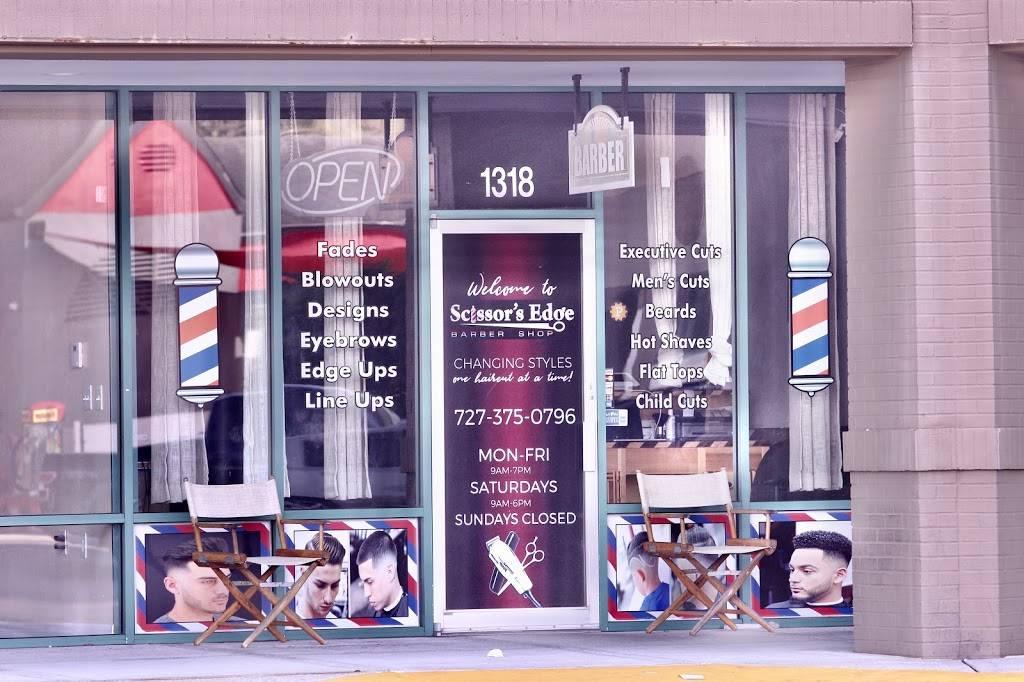 Scissors Edge Barber shop - hair care  | Photo 2 of 8 | Address: 1318 Seven Springs Blvd, New Port Richey, FL 34655, USA | Phone: (727) 375-0796