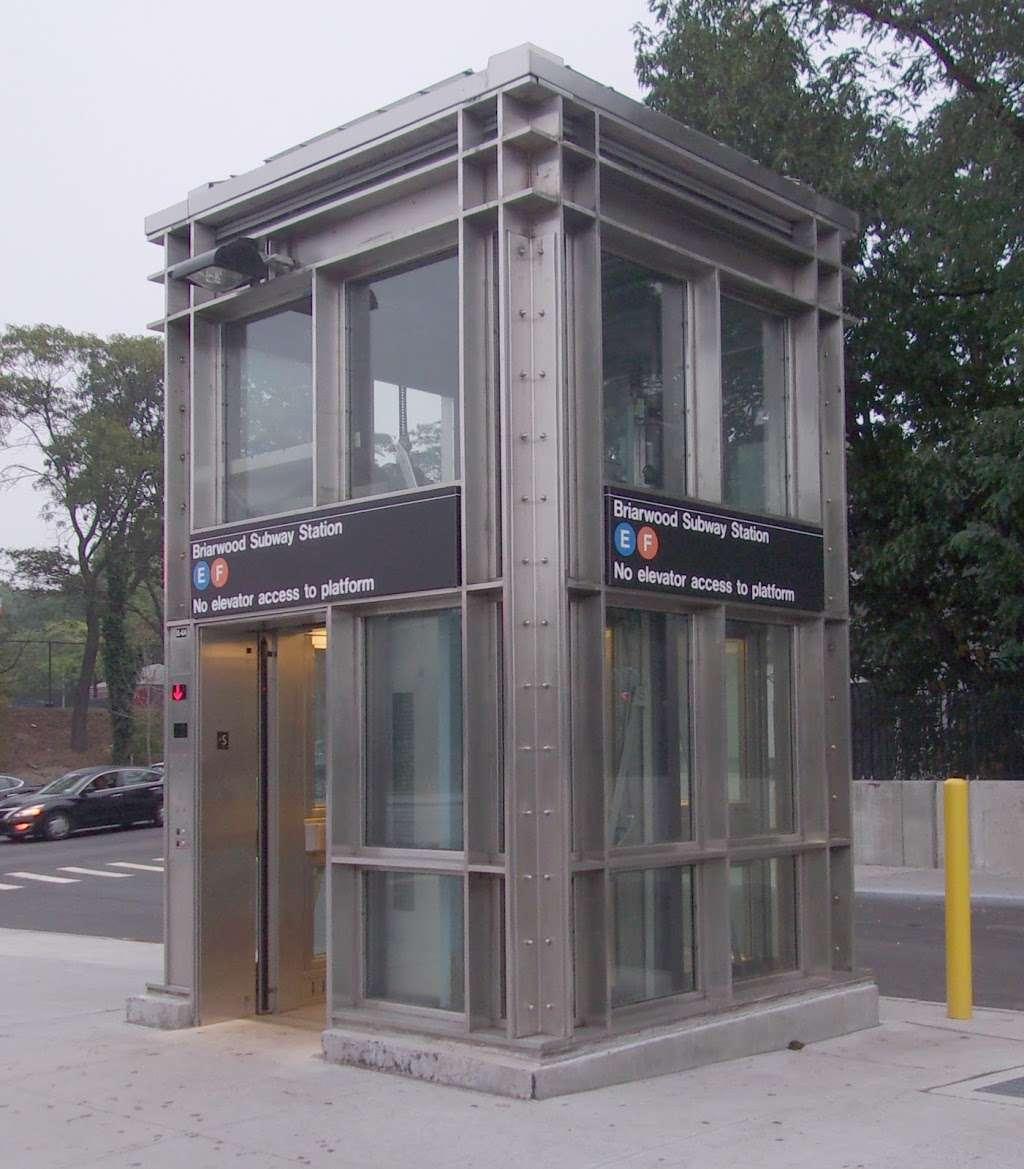 Briarwood - Van Wyck Blvd - subway station    Photo 2 of 10   Address: &, Queens Blvd & Main St, Briarwood, NY 11435, USA