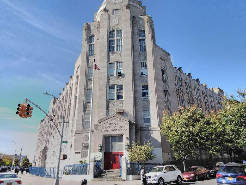 Intermediate School 98 Herman Ridder - school    Photo 1 of 2   Address: 1619 Boston Rd, Bronx, NY 10460, USA   Phone: (718) 589-8200