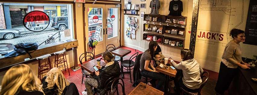 Jack's Stir Brew Coffee - cafe  | Photo 1 of 10 | Address: 222 Front St, New York, NY 10038, USA | Phone: (212) 227-7631