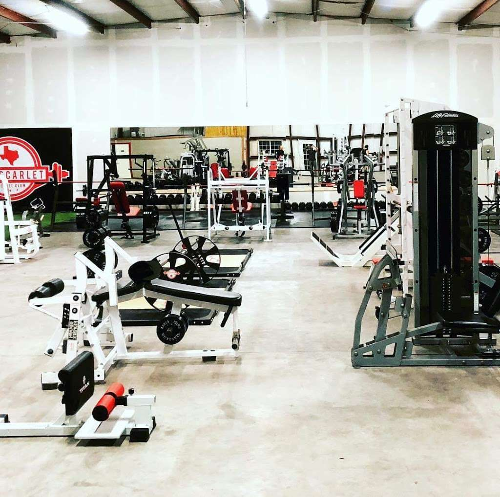 The Scarlet Barbell Club - gym  | Photo 2 of 5 | Address: 18790 US-59, New Caney, TX 77357, USA | Phone: (832) 793-5105