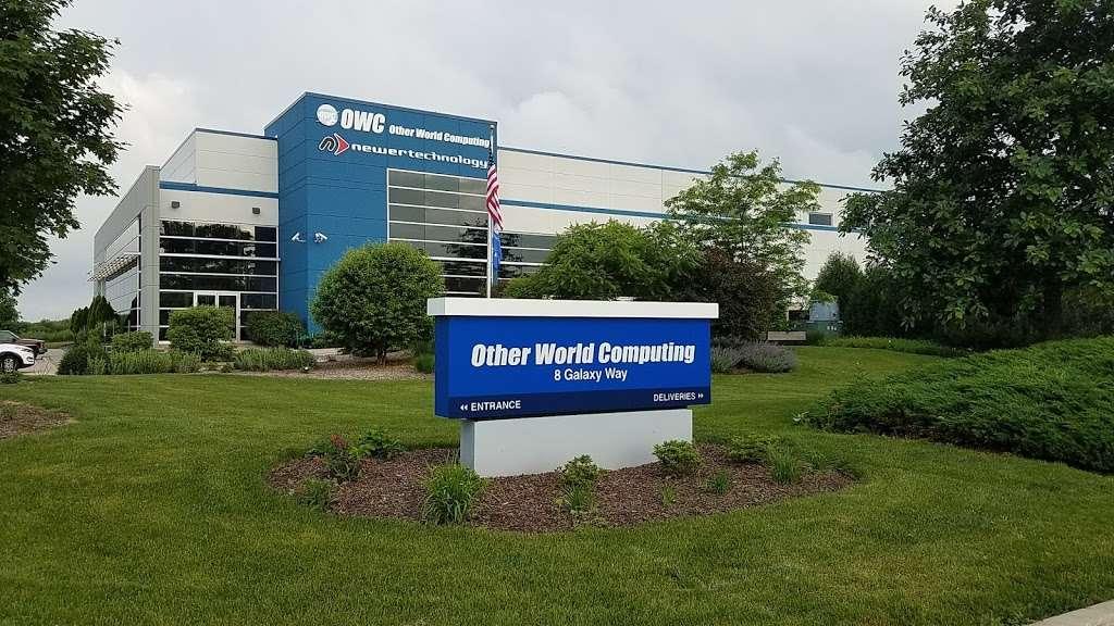 Other World Computing - storage    Photo 1 of 1   Address: 8 Galaxy Way, Woodstock, IL 60098, USA   Phone: (815) 338-8685