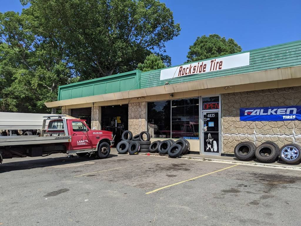 Rockside Tire Sales & Services - car repair  | Photo 1 of 10 | Address: 4835 Fayetteville Rd, Raleigh, NC 27603, USA | Phone: (919) 772-5101