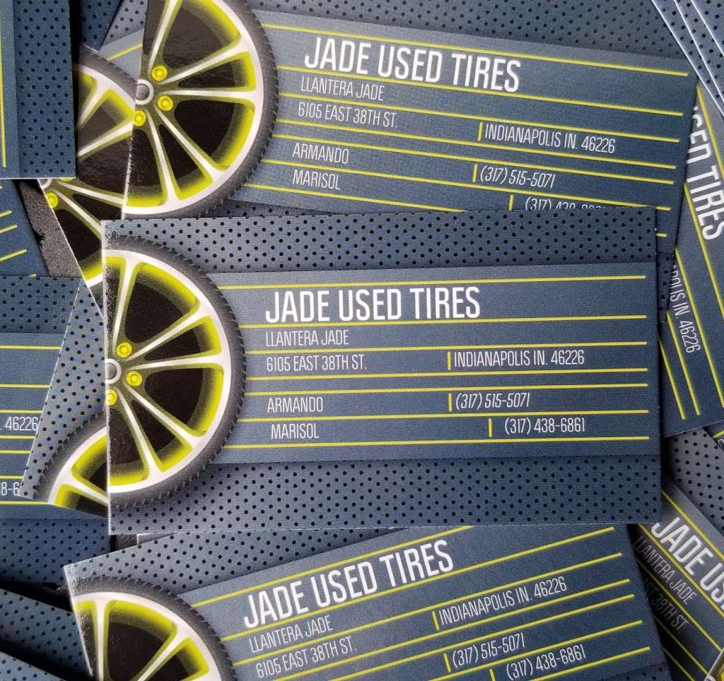 JADE USED TIRE SHOP - car repair  | Photo 10 of 10 | Address: 6105 E 38th St, Indianapolis, IN 46226, USA | Phone: (317) 515-5071