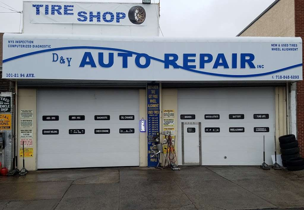 D & Y Auto Repair - car repair  | Photo 1 of 8 | Address: 101 21 94th Ave, Ozone Park, NY 11416, USA | Phone: (718) 848-6293