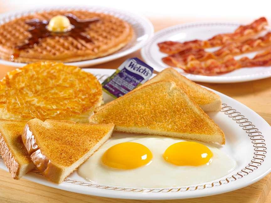 Waffle House - meal takeaway    Photo 4 of 10   Address: 1116 League Line Rd, Conroe, TX 77303, USA   Phone: (936) 890-0555