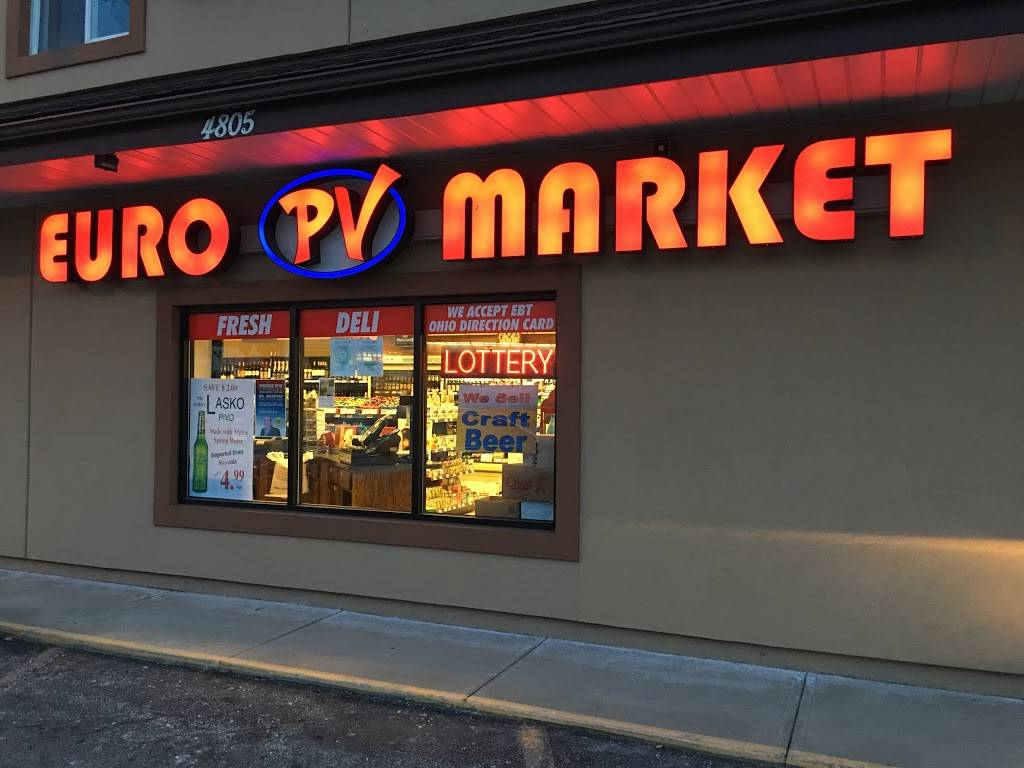 PV Euro Market - Fine European Foods - bakery  | Photo 1 of 10 | Address: 4805 W Pleasant Valley Rd, Cleveland, OH 44129, USA | Phone: (440) 888-0264