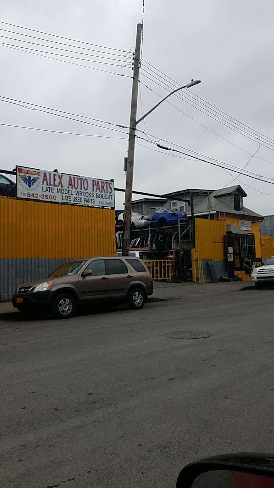 Alex Auto Parts - car repair  | Photo 2 of 2 | Address: 327 Bryant Ave, Bronx, NY 10474, USA | Phone: (718) 842-2500