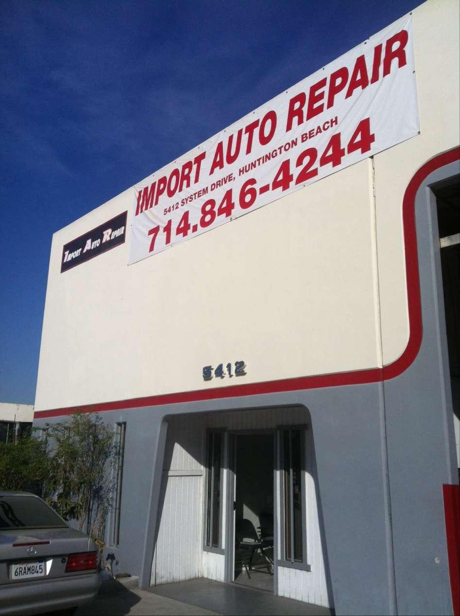 Import Auto Repair - Auto Mechanic Shop - car repair  | Photo 6 of 10 | Address: 5416 System Dr, Huntington Beach, CA 92649, USA | Phone: (714) 893-4244