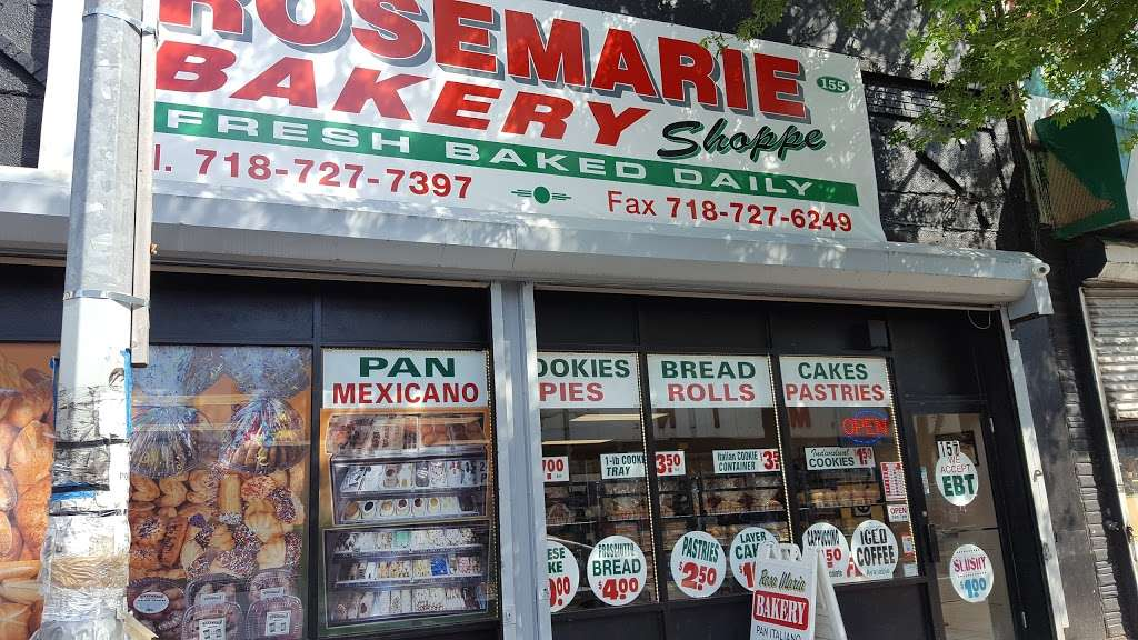 RoseMarie Bakery - bakery  | Photo 4 of 6 | Address: 157 Port Richmond Ave, Staten Island, NY 10302, USA | Phone: (718) 727-7397