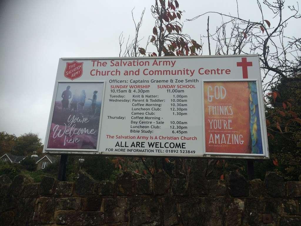 The Salvation Army - church    Photo 6 of 6   Address: 2 Bayhall Rd, Tunbridge Wells TN2 4UT, UK   Phone: 01892 523849