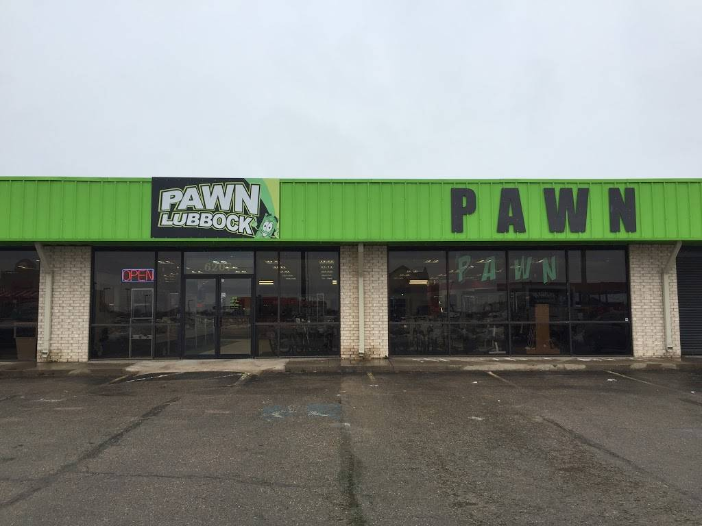 Pawn Lubbock - jewelry store    Photo 1 of 6   Address: 6207 19th St, Lubbock, TX 79407, USA   Phone: (806) 771-7296