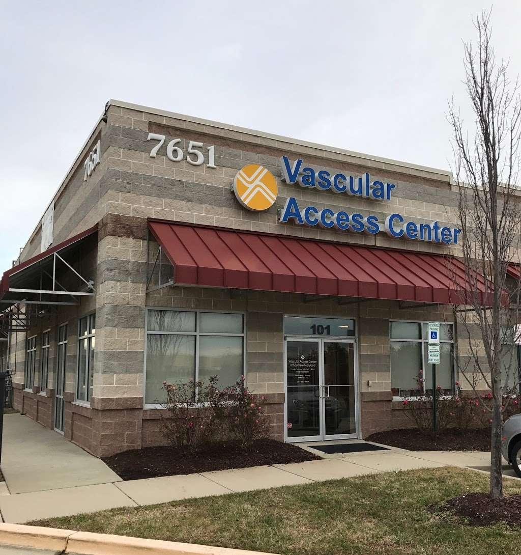 Vascular Access Centers - doctor    Photo 2 of 3   Address: 7651 Matapeake Business Dr #101, Brandywine, MD 20613, USA   Phone: (301) 304-4577