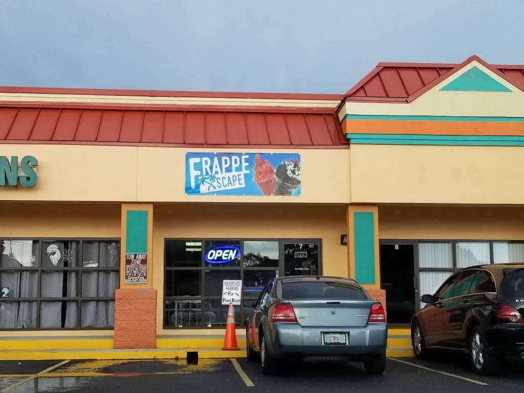 FrappeXscape - restaurant  | Photo 1 of 10 | Address: 5101 E Busch Blvd #7, Tampa, FL 33617, USA | Phone: (813) 983-1350