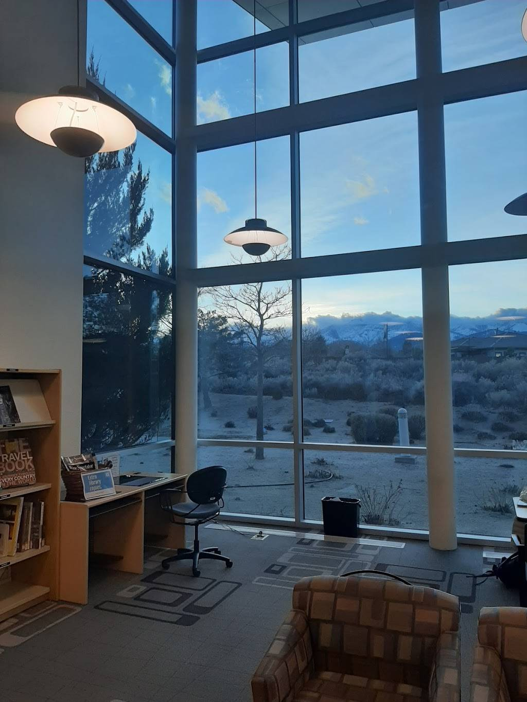 South Valleys Library - library  | Photo 2 of 9 | Address: 15650 Wedge Pkwy, Reno, NV 89511, USA | Phone: (775) 851-5190