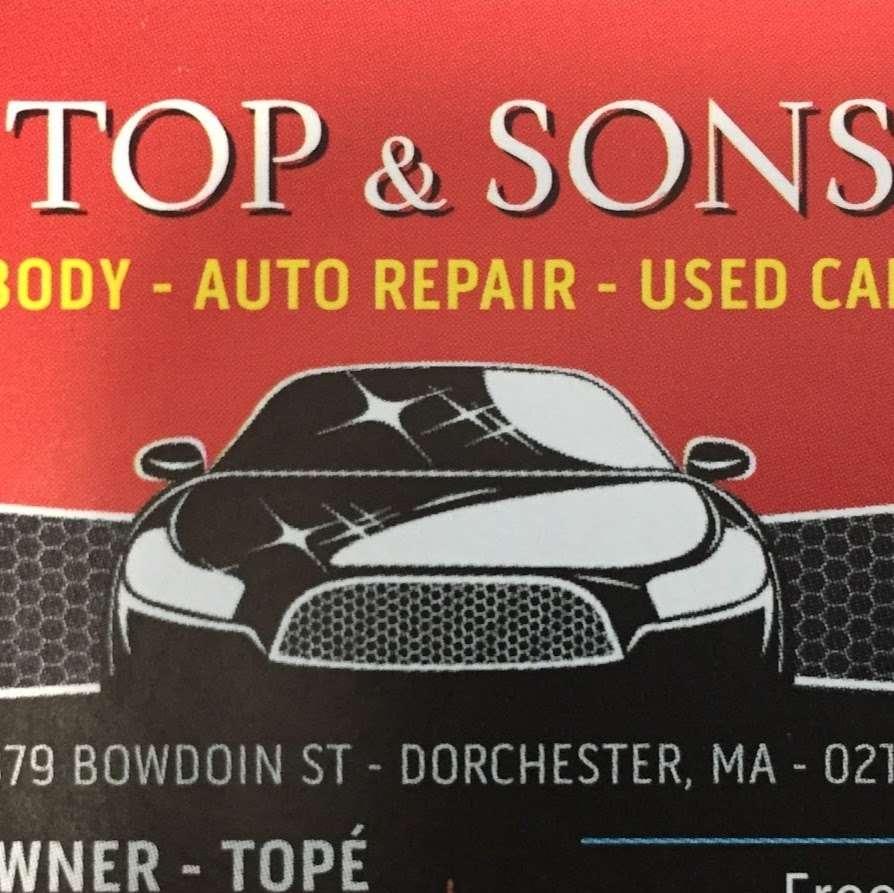 Top & Sons - car repair    Photo 1 of 2   Address: 379 Bowdoin St, Dorchester, MA 02122, USA   Phone: (617) 506-8289