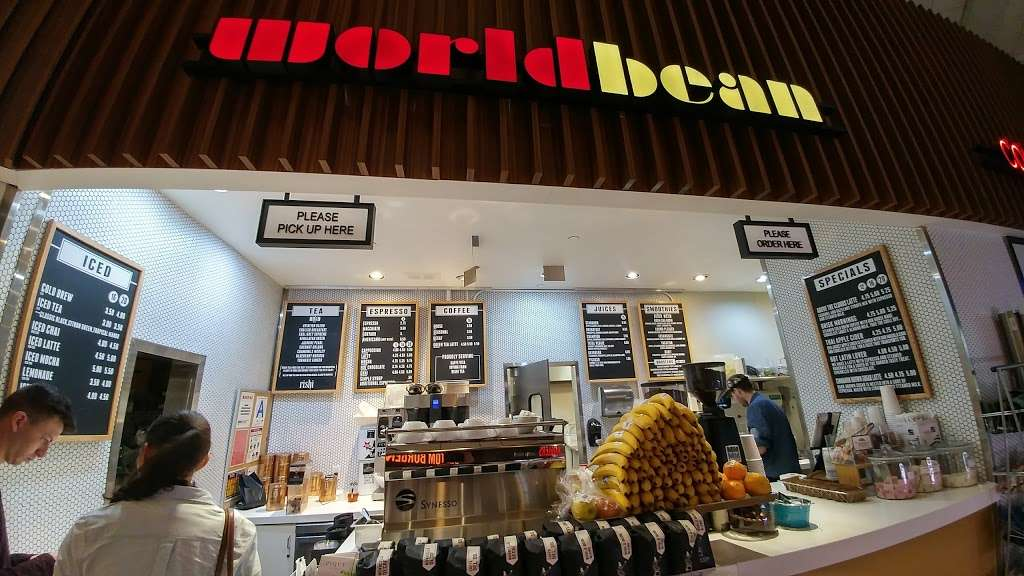 World Bean Coffee - cafe  | Photo 3 of 6 | Address: Terminal D, Arrivals Level, LaGuardia Airport (LGA), Flushing, NY 11371, USA | Phone: (718) 533-3400