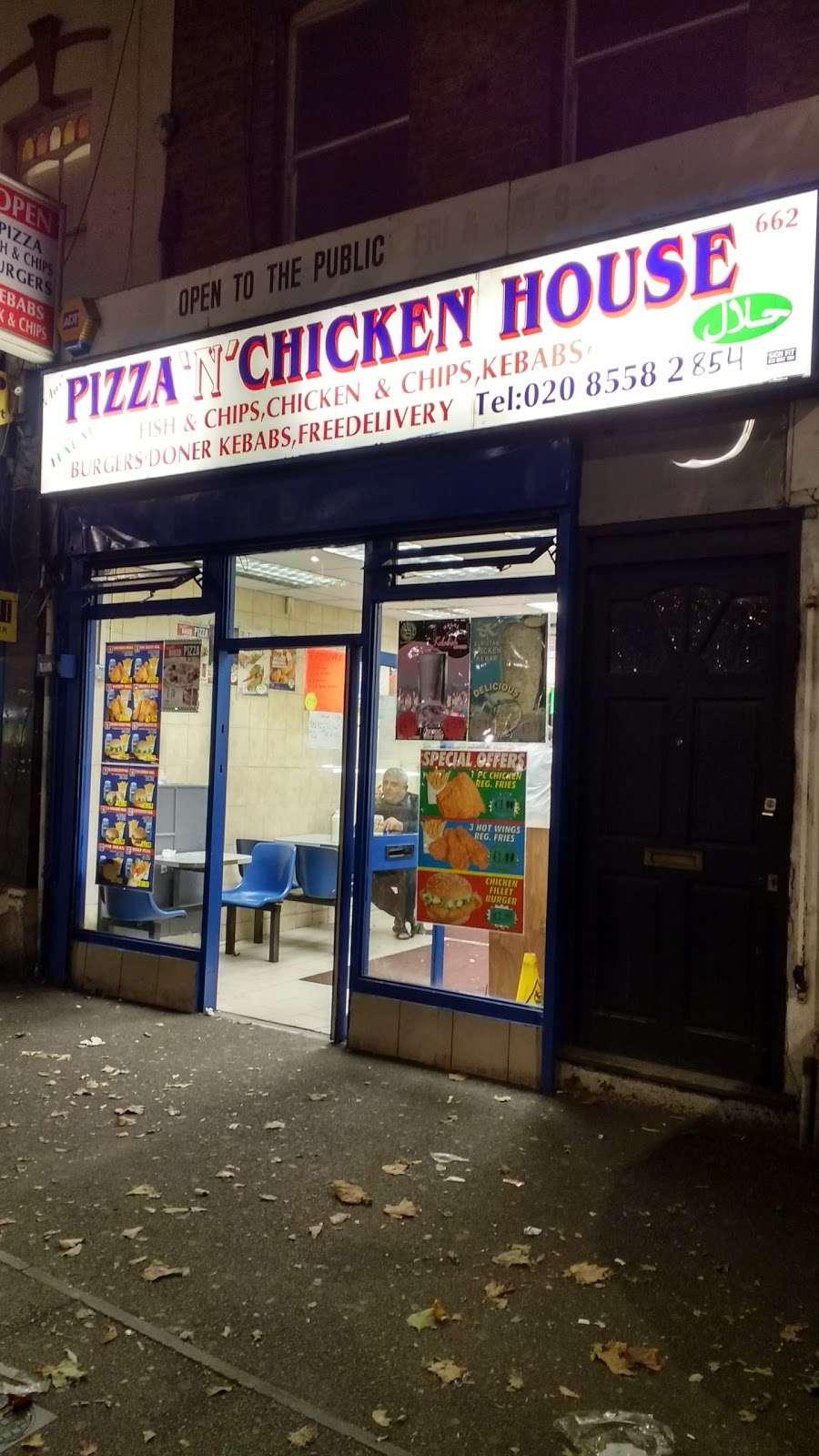 PizzanChicken House - meal takeaway  | Photo 1 of 1 | Address: 662 High Rd Leyton, London E10 6JP, UK | Phone: 020 8558 2854