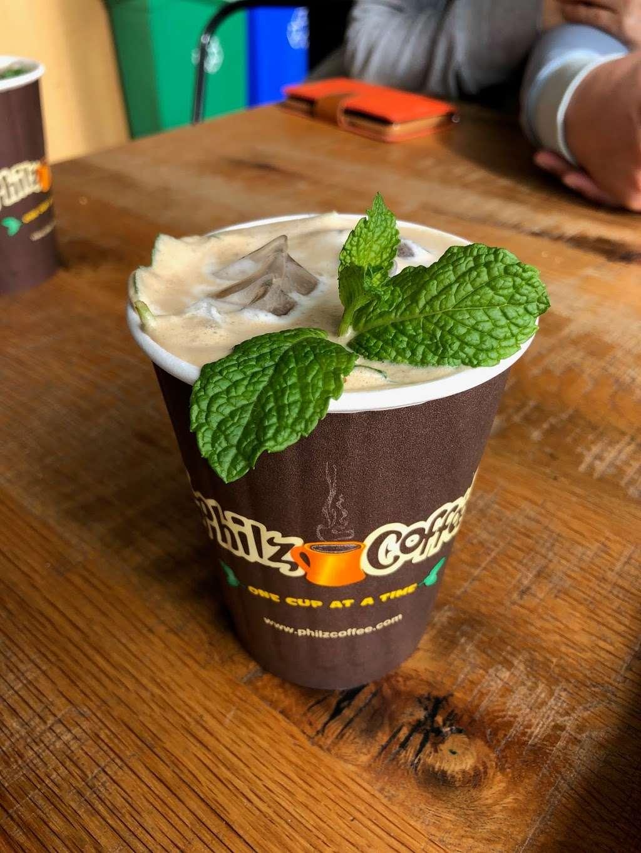 Philz Coffee - cafe    Photo 4 of 10   Address: 19439 Stevens Creek Blvd, Cupertino, CA 95014, USA   Phone: (408) 200-4856