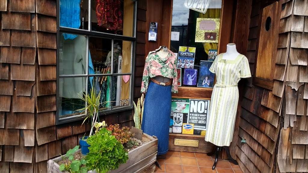 Empress Vintage - clothing store    Photo 1 of 10   Address: 1757 Alcatraz Ave, Berkeley, CA 94703, USA   Phone: (510) 542-6196