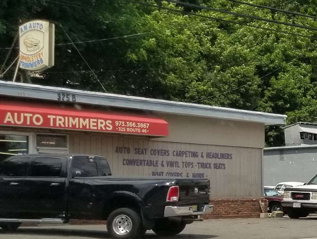AM Auto Trimmers - car repair    Photo 6 of 10   Address: 325 US-46, Dover, NJ 07801, USA   Phone: (973) 366-3867