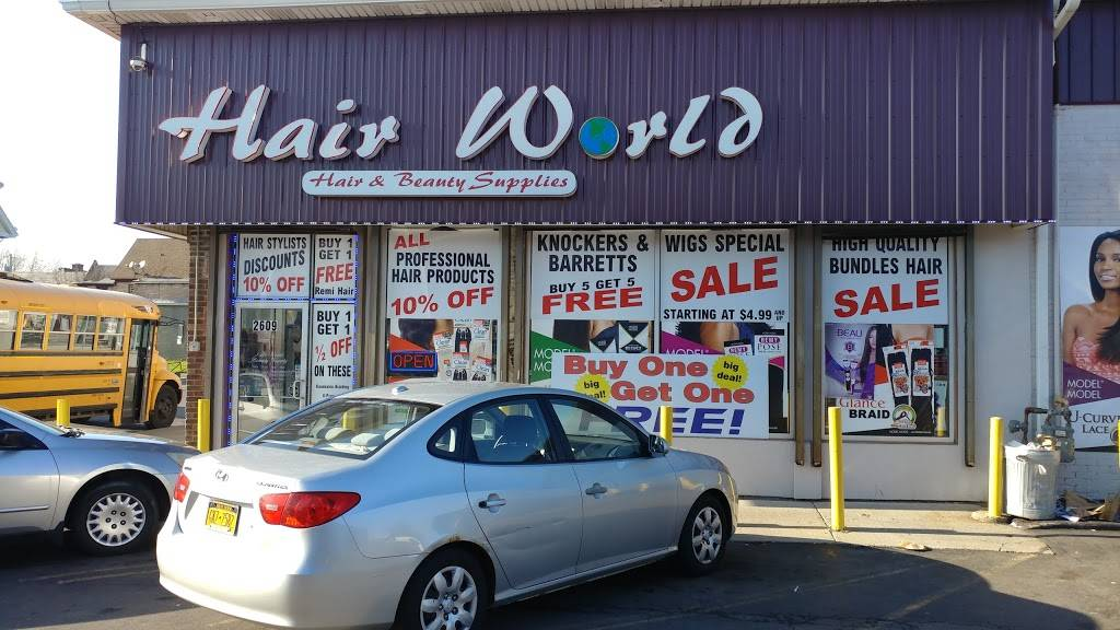 Hair World Beauty Supply - store  | Photo 5 of 7 | Address: 2609 Bailey Ave, Buffalo, NY 14215, USA | Phone: (716) 259-8213