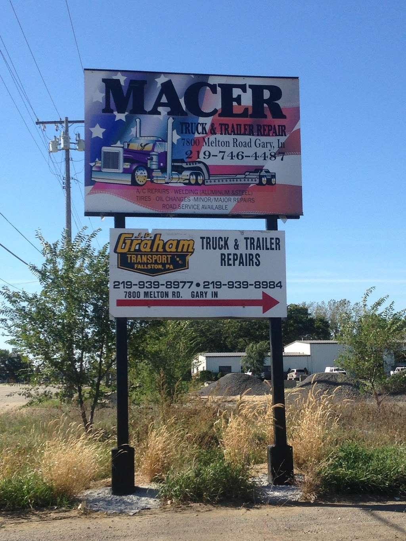 Macer Truck and Trailer Repair Shop - car repair  | Photo 6 of 10 | Address: 7800 Melton Rd, Gary, IN 46403, USA | Phone: (219) 746-4487