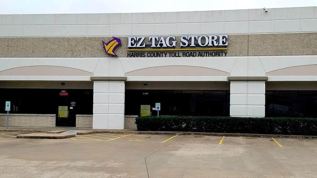 Ez Tag Store West Area 2901 West Sam Houston Pkwy N Houston Tx 77043 Usa