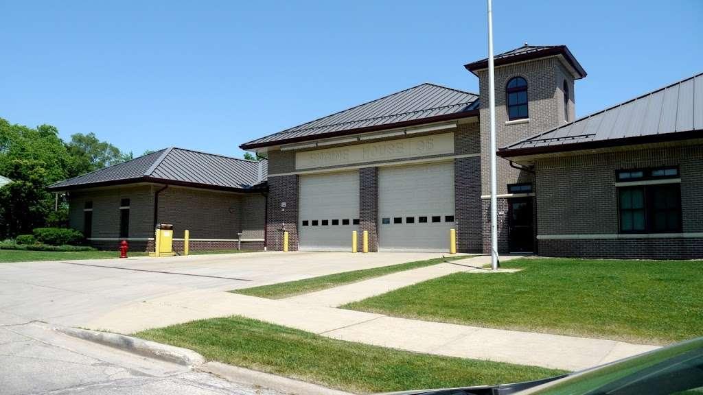 Milwaukee Fire Station 35 - fire station  | Photo 1 of 4 | Address: 100 N 64th St, Milwaukee, WI 53213, USA | Phone: (262) 516-2223