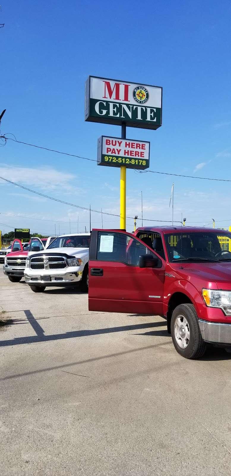 Mi Gente Dallas - car dealer  | Photo 10 of 10 | Address: 935 S Buckner Blvd, Dallas, TX 75217, USA | Phone: (972) 512-8178