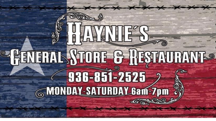 Haynies General Store and Restaurant - restaurant  | Photo 2 of 10 | Address: 11035 FM 149, Richards, TX 77873, USA | Phone: (936) 851-2525