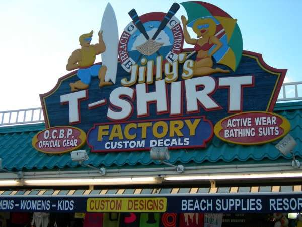 Jillys T-Shirt Factory, LLC - clothing store  | Photo 6 of 10 | Address: 762 Boardwalk, Ocean City, NJ 08226, USA | Phone: (609) 385-1234 ext. 2