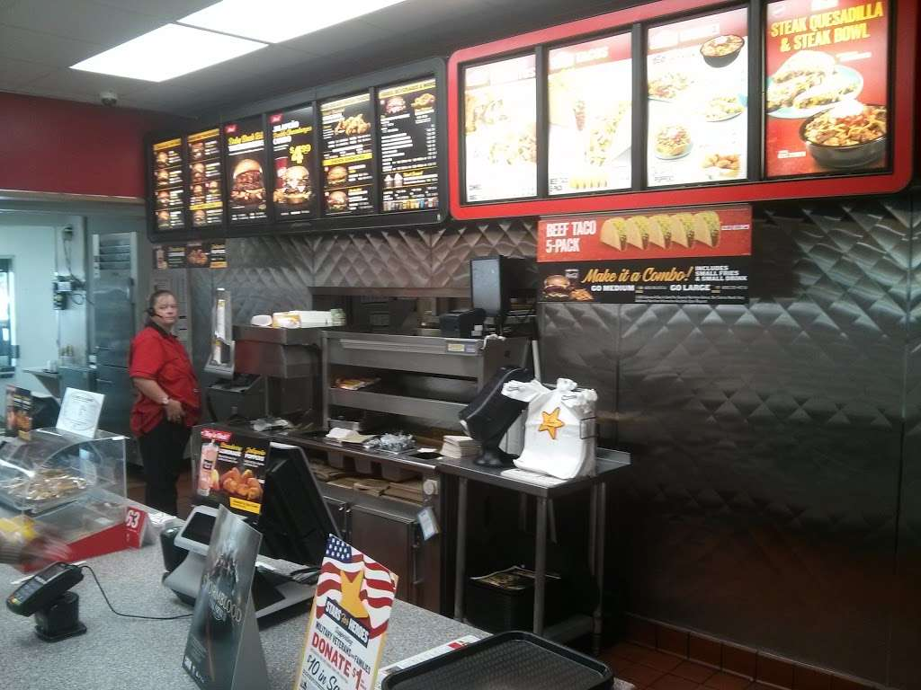 Hardees - restaurant  | Photo 7 of 10 | Address: 4401 E 10th St, Indianapolis, IN 46201, USA | Phone: (317) 359-4655