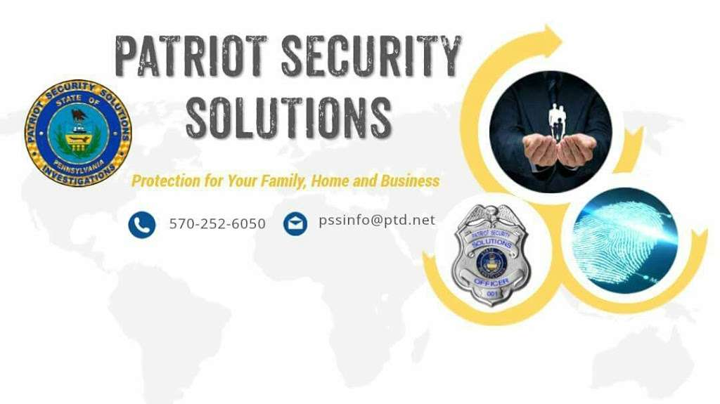 Patriot Security Solutions, Inc. - local government office  | Photo 3 of 3 | Address: 1361 PA-507 #3, Greentown, PA 18426, USA | Phone: (570) 252-6050
