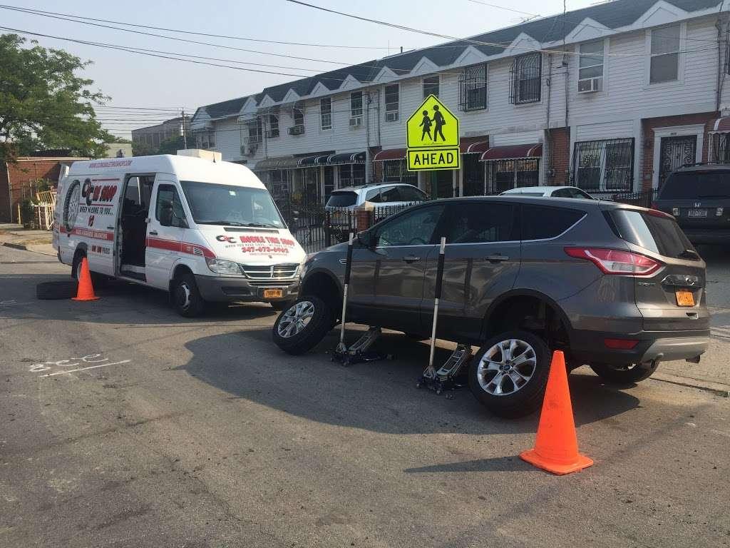 Mobile Tire Shop - car repair    Photo 2 of 10   Address: 654 Utica Ave, Brooklyn, NY 11203, USA   Phone: (347) 673-6962